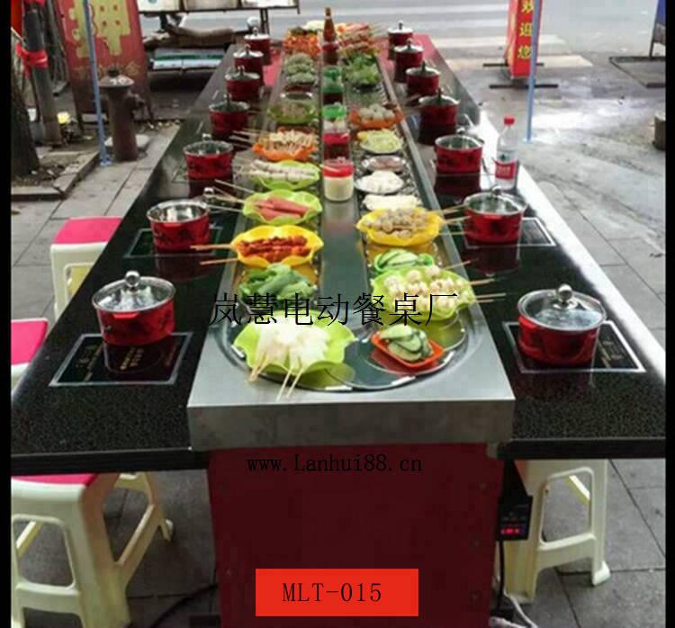 旋转涮涮锅麻辣烫设备工厂直销价格、寿司回转