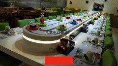 旋转火锅店机械化送餐已被广泛运用